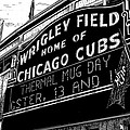 Wrigley Field Marquee by Bruce Kay