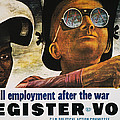 WWII: EMPLOYMENT POSTER Poster by Granger