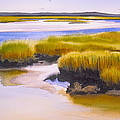 YARMOUTHPORT MARSH by Karol Wyckoff