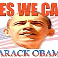 Yes We Can - Barack Obama Poster Print by Peter Fine Art Gallery  - Paintings Photos Digital Art