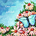 You Are Loved Print by MarLa Hoover