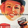 You Bet it's Delicious - Coca Cola Print by Nomad Art And  Design