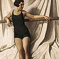 Young Bather. 1st Half 20th C. Artists Poster by Everett