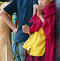 Young Tibetan Monk by Dagmar Ceki