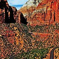 Zion Hairpin Poster by Benjamin Yeager