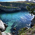China Cove Print by Mike Herdering