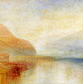 Inverary Pier - Loch Fyne - Morning Poster by Joseph Mallord William Turner