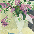 Lilacs Print by Glyn Warren Philpot