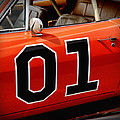 01 - The General Lee 1969 Dodge Charger Print by Gordon Dean II