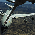 A U.s. Air Force E-3 Sentry Aircraft Print by Stocktrek Images
