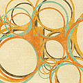 abstract circle Print by Setsiri Silapasuwanchai