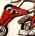 Abstract Tricycle Poster by Tommervik