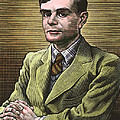 Alan Turing, British Mathematician Poster by Bill Sanderson
