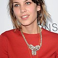 Alexa Chung At Arrivals For The Poster by Everett