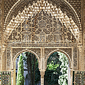 Alhambra windows Print by Jane Rix