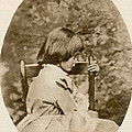 Alice Liddell, Alices Adventures Print by Science Source