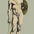 Ares, Greek God Of War Print by Photo Researchers