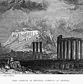 ATHENS: OLYMPIAN ZEUS Poster by Granger