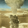 Atomic Bombing Of Nagasaki Print by Omikron