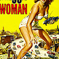 Attack Of The 50 Foot Woman, Allison Poster by Everett