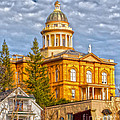 Auburn Courthouse Poster by Cheryl Young