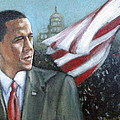 Barack Obama Poster by Howard Stroman