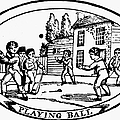 BASEBALL GAME, 1820 Poster by Granger