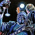 BB King Print by Chris Benice