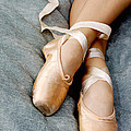 Beauty is the Pointe Poster by Kim Fearheiley