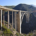 Bixby Bridge Crossing a Chasm Poster by David Buffington
