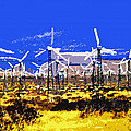 Blowing in the wind Print by David Lee Thompson