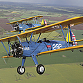Boeing Stearman Model 75 Kaydet In U.s Poster by Daniel Karlsson
