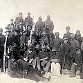 Buffalo Soldiers Of The 25th Infantry Poster by Everett