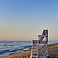 Cape Cod Lifeguard Stand Poster by John Greim