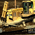 CAT Bulldozer . 7D10945 Print by Wingsdomain Art and Photography