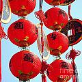 Chinese New Year Decorations Poster by Yali Shi