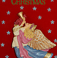 Christmas Angel Poster by Aimee L Maher Photography and Art
