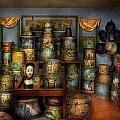 Collector - Hats - The hat room Print by Mike Savad