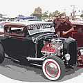 Custom Ford Coupe Poster by Steve McKinzie