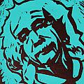 Einstein 2 Print by William Cauthern