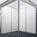 Empty Exhibition Booth Print by Jon Boyes