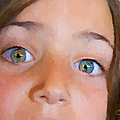 Eyes Have It Print by Chuck Staley