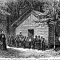 FREEDMEN SCHOOL, 1868 Print by Granger
