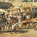 Israel in Egypt Print by Sir Edward John Poynter