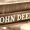 John Deere Poster by Cheryl Young