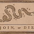 Join or Die Poster by War Is Hell Store