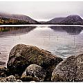 Jordan Pond Print by Chad Tracy