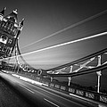 London Tower Bridge Print by Nina Papiorek