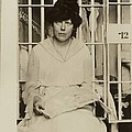 Lucy Burns 1879-1966, In A Jail Print by Everett