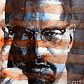 MalcolmX Print by Paul Lovering